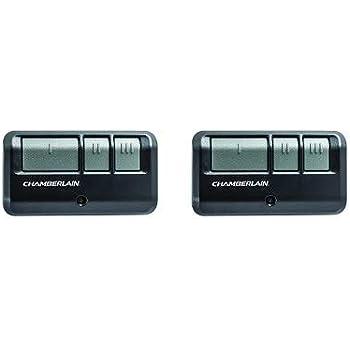 Chamberlain G953ev P2 Liftmaster Craftsman 953ev P2 3 Button Security 2 0 Compatible Includes Visor Clip Garage Door Opener Remote 2 Pack Amazon Com