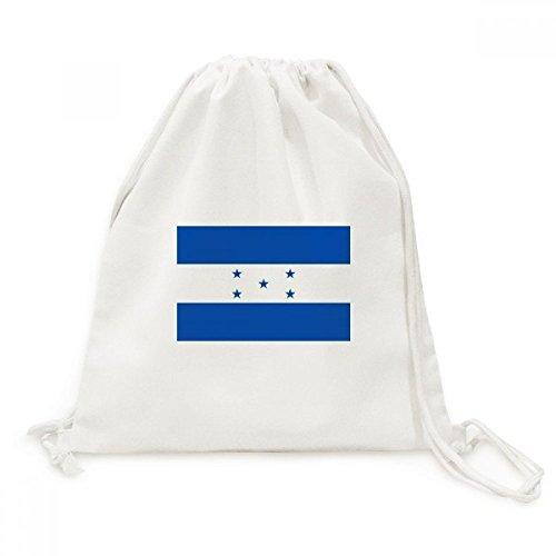 DIYthinker Viaje de la Bandera Nacional Honduras Norteamérica País Lienzo morral del Lazo Bolsas de la Compra