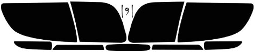 Subject 9 - Fits: Mazda 3 SEDAN Pre-cut vinyl overlay Taillight PLUS tint (2004 2005 2006 2007 2008 2009) DARK