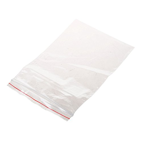 Review Of Moligh doll 500Pcs Clear Grip Self Press Seal Resealable Polythene Zip Lock Plastic Jewelr...