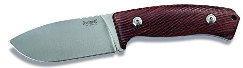 LionSteel Erwachsene Messer Hunting M3 Santos Wood, Braun, STANDARD