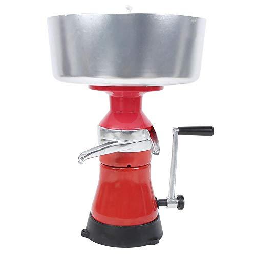 Separatore centrifugo della crema fresca del latte, macchina per la separazione del latte del separatore della crema manuale della lega di alluminio per uso lattiero-caseario domestico