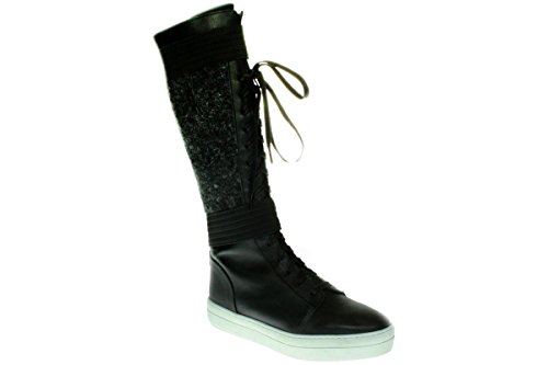 Maruti Jaimy Leather Damen Stiefel im Sneaker Look gefüttert (40 EU)