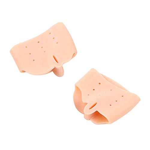 Artibetter 1 paire de chaussettes correctrices Bunion hallux valgus attelles gros orteil pour soulager la douleur des chaussures (couleur de la peau)