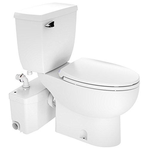 Saniflo Toilet - Two-piece SaniPlus