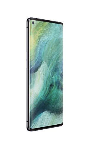 OPPO Find X2 Neo Smartphone, entsperrt, 5G/4G, 256 GB, 12 GB RAM, 4025 mAh, mit Schnellladetechnologie VOOC 4.0, USB-C – Android 10, Handy, Mondschwarz