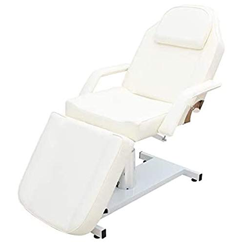 FJLOVE Table de Massage Lit Pliante 3-Section Professionnel Fauteuil de Soins Inclinable et Pliant...