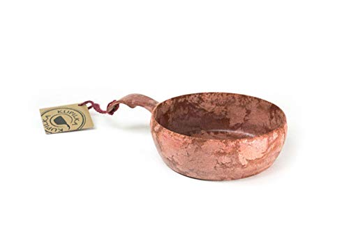 Kupilka 55 - Bowl - Outdoorschüssel aus biologischem Material - recyclebar (rot)