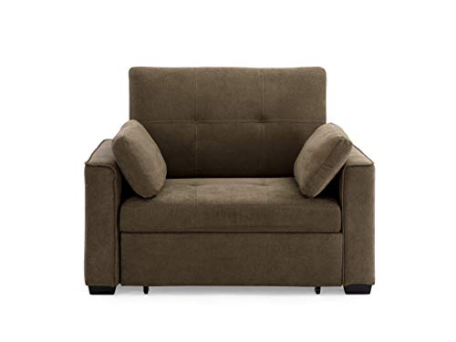 Mechali Products Furniture Sofa Sleeper Convertible into Lounger/Love seat/Bed - Twin, Full & Queen Sizes - (Twin)