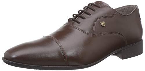 Woods Men's Leather Formal Shoe-11 UK/India (45 EU) (GF 2849118_Brown_11)