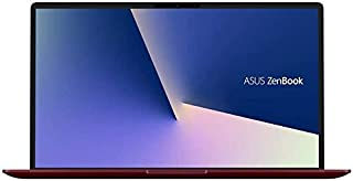 Asus ZenBook 13 UX333FN-A4171TS Ultrabook (Burgundy Red) - Intel i7-8565u 4.6 GHz, 16 GB RAM, 1000 GB SSD, Nvidia Geforce MX150, 13.3 inches LED, Windows 10, Eng-Arb-KB
