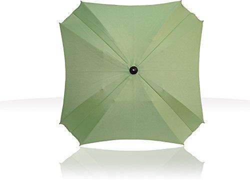 Sonnenschirm für Kinderwagen, mit flexiblem Befestigungsarm, Sonnenschirm mit UV-Schutz, Durchmesser 68 cm, (Pistachio)