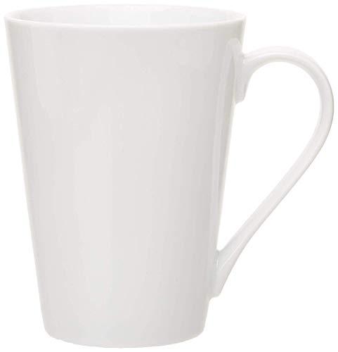 White Professional Gourmet Tall Mug Set of 6