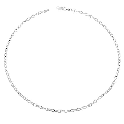 Orphelia Jewelry Unisex-Halskette ohne Anhnger 925 Sterling Silber 45cm ZK-2626