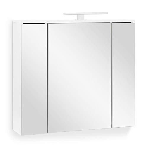 Armario de baño con espejo Golden Easy – 3 puertas – enchufe