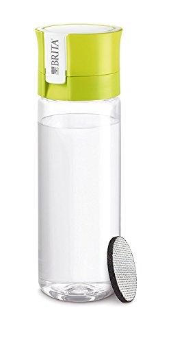 ブリタ浄水機能付きボトルフィル&ゴーカートリッジ2個付き600mlライム