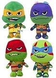 SL 1 Peluche Tortugas Ninjas Teenagers 21 CM (Antifaz Naranja)