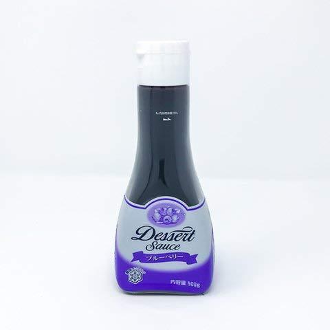 雪印メグミルク デザートソースブルーベリー 500g 【冷凍・冷蔵】 3個