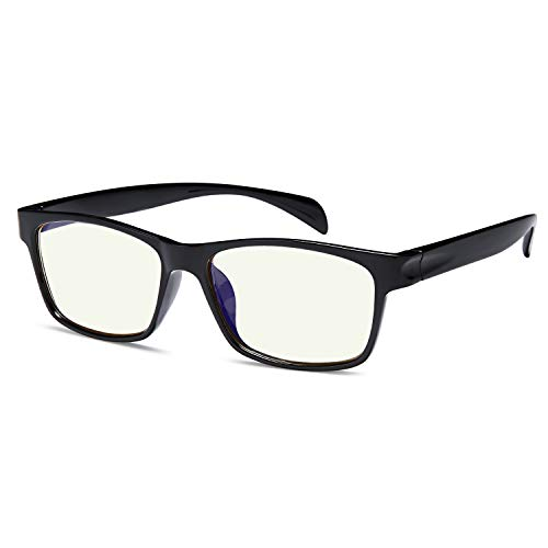 Gamma Ray Blue Light Blocking Reading Glasses - Amber Tint Screen Readers 1.75