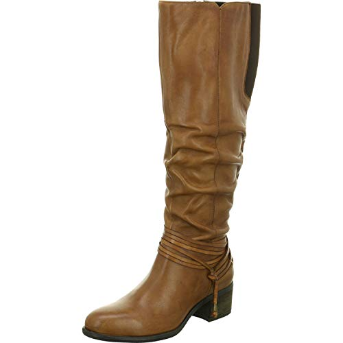 SPM Shoes & Boots dames laarzen 15409414-01-02002-13013 bruin 534654