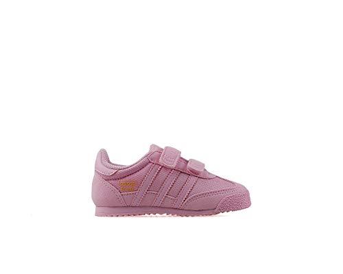 adidas Dragon Og CF I, Scarpe da Fitness Unisex-Bambini, Multicolore Rosa Ghiaccio (Frost Pink Frost Pink Frost Pink), 27 EU