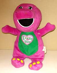 Barney I Love You Singing Soft Plush by Character Options