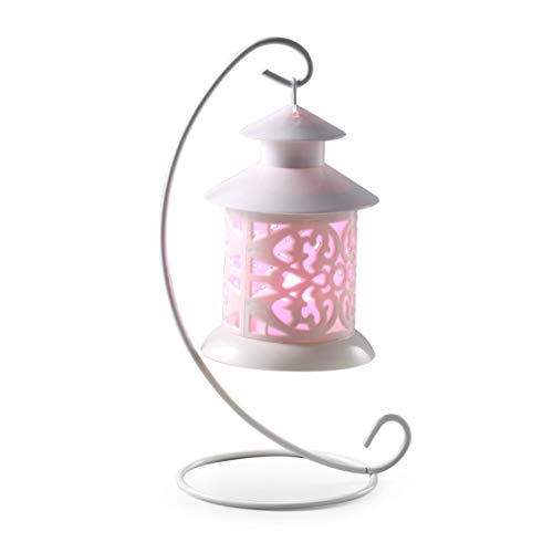 BiaBai Plastic Timer LED Flameless Candles By Festival Delights Premium IC controlled Soft Flickering Votive Battery Operated Candles