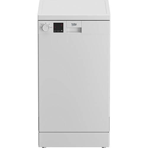 Beko Slimline Freestanding Dishwasher - White
