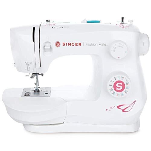 SINGER Fashion Mate - Máquina de coser (Blanco, Máquina de coser automática, Costura, Paso 4, Variable, palanca, Giratorio)