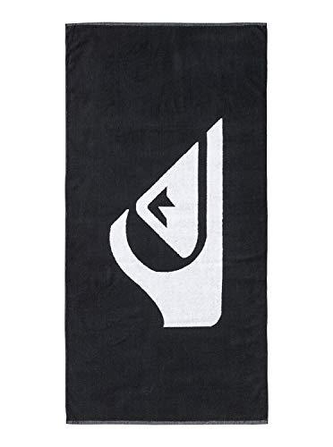 Quiksilver Herren Woven Logo Towel, Anthracite/Black, One Size