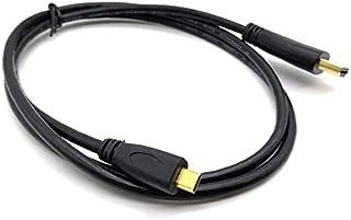 Computer Cables & Connectors - 50pcs HDMI Male to Micro HDMI Male Cable 1M Male to Male V1.4 1080P High Speed HDMI Cable (...