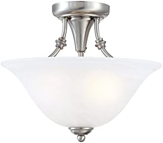 Best brushed nickel ceiling light fixtures Reviews