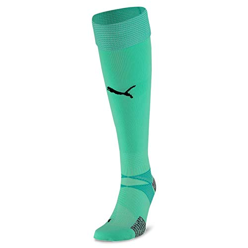 PUMA teamFINAL 21 Socks Chaussettes De Foot Homme Green Glimmer FR : Taille Unique (Taille Fabricant : 3)