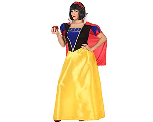 ATOSA disfraz princesa de cuento mujer adulto vestido largo XL
