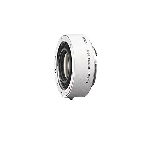 Sony SAL14TC, 1,4fach-Telekonverter (A-Mount Vollformat, geeignet für die Objektive: Sony SAL500F40G, Sony SAL300F28G2, Sony SAL70400G2, Sony SAL70200G2, Sony SAL135F28) weiß