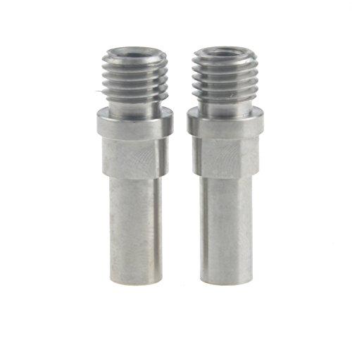 Wanyifa 1 Paar Titanium Ti Brake Post V-Brake Bosses M10 x 1,25 mm, Normales Titan