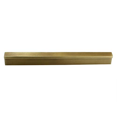 Moderno Armario Tirador de puerta dorado Tirador para muebles de cocina tiradores de cajón para armarios y cajones baño dormitorio muebles(Hole distance:160mm)