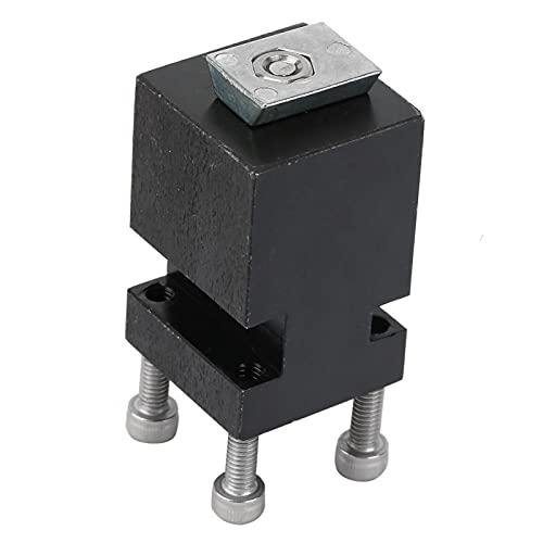 Poste de zinc-hierro L Herramienta de 2 posiciones 39MM Z044MTL Accesorio de micro máquina para torno de metal para la fijación del husillo