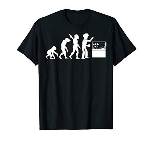 Aquarianer Aquarium Aquaristik Fische Evolution Fischzüchter T-Shirt