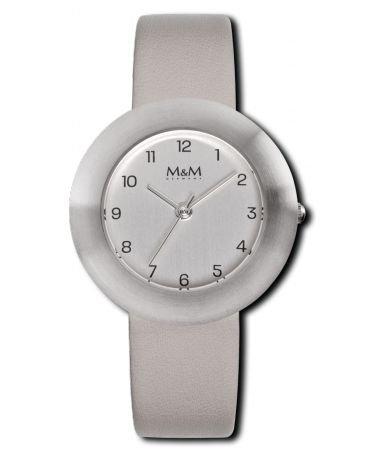 M&M Reloj de Pulsera para Mujer Correa de Piel M11828-823 Best Basic 79.9