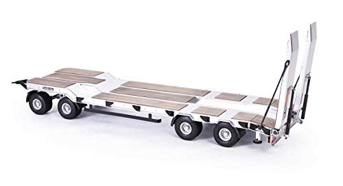 CARSON 500907400 - 1:14 Goldhofer TU4 Tiefladeanhänger 4A., RC-Truck, Zubehör, Modellbau, Maßstab 1:14, Auflieger, Anhänger