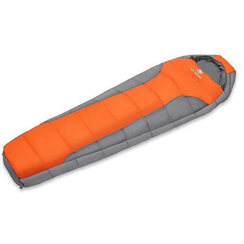 LAIABOR Sacco A Pelo Ultraleggero Unibile con Zip per Trekking, Viaggio, Outdoor Fodera Compatto