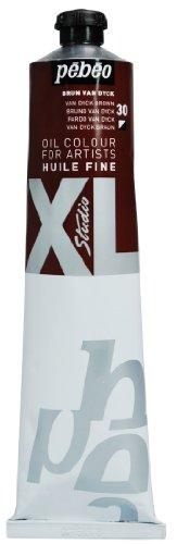 Pébéo XL 30 - Pintura al óleo (200 ml), color marrón
