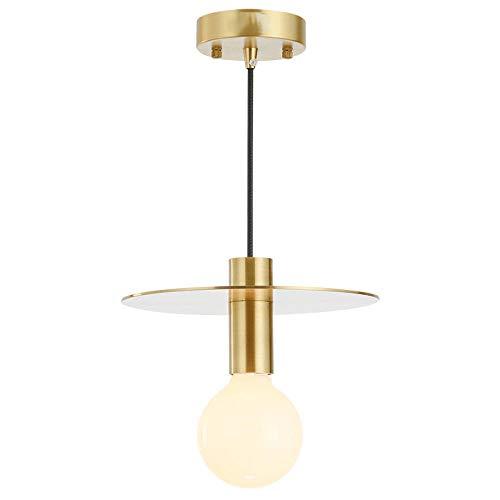 Nordin Post, eetkamer, moderne hanglamp, hal, slaapkamer, compleet koper, alleen hoofd, droplight goud, luxe LED-verlichting, accessoires