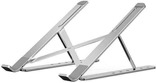 THBEIBEI Soporte plegable del ordenador portátil de la aleación de aluminio del almacenamiento plegable de la tableta del soporte