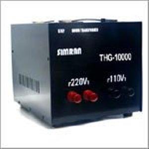 Simran Voltage Transformer Power Converter 10000 Watts Step Up Down Voltage Transformer Converts Between 110 Volt -220/240 Volt Worldwide Use CE Certified Black (THG-10000(T))