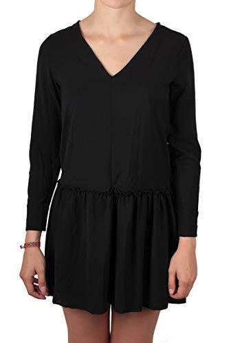 Hailys Kleid Lucy mit Rüschen schwarz Größe M