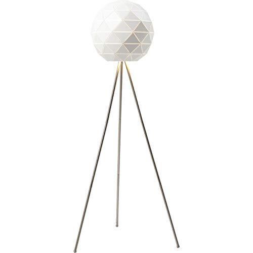 Kare design - Lampadaire design acier blanc Triangle