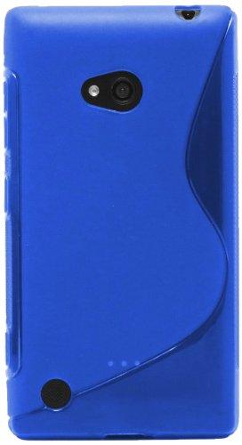 Tapa blanda Katinkas Wave para Nokia Lumia 720 - azul