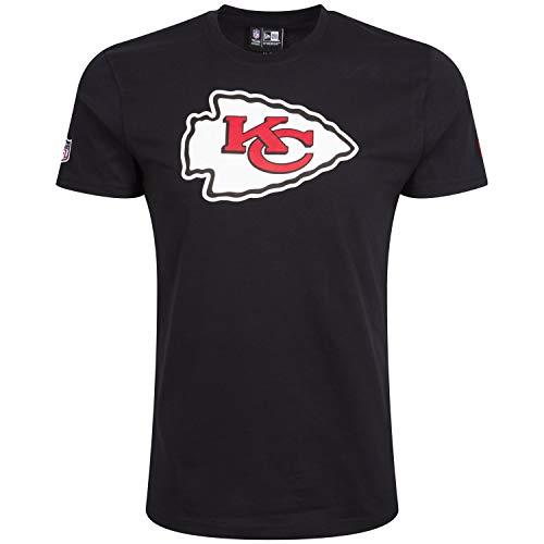 New Era Kansas City Chiefs - T-Shirt - NFL - Team Logo - Black - L